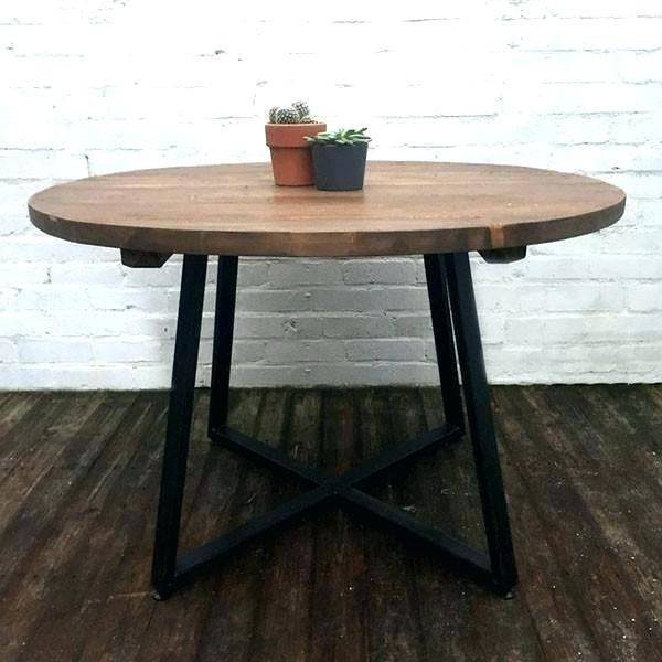 Furniture Kitchen Rectangular Pedestal Dining Table Small Regarding Small Round Dining Tables With Reclaimed Wood (View 9 of 25)