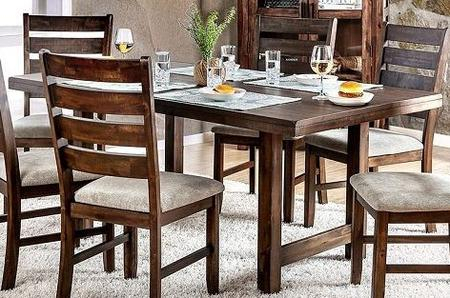 Furniture Of America Cm3463T With Transitional Rectangular Dining Tables (View 10 of 25)