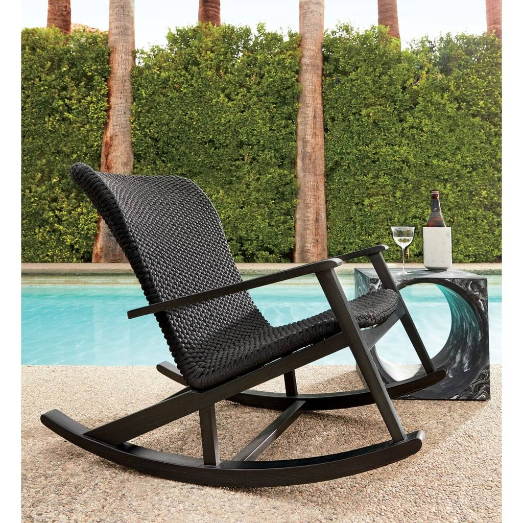 Furniture Outdoor Rocking Chair Affordable Stools Benches In Rocking Benches With Cushions (View 11 of 25)