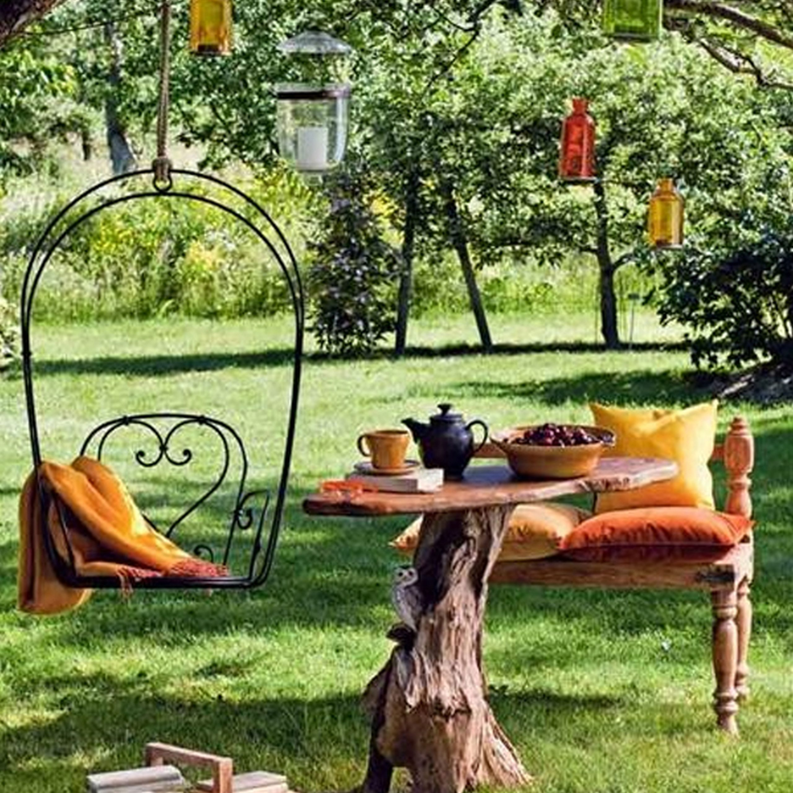 Furniture : Porch Swings For Your Comfy Outdoor Furniture Inside Lamp Outdoor Porch Swings (View 5 of 25)