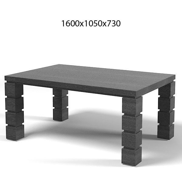 Galimberti Nino Modern Contemporary Rectangular Dining Table Lo (View 19 of 25)