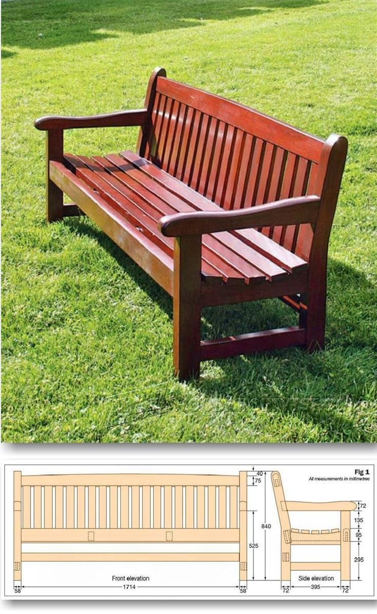 Featured Image of Wood Garden Benches