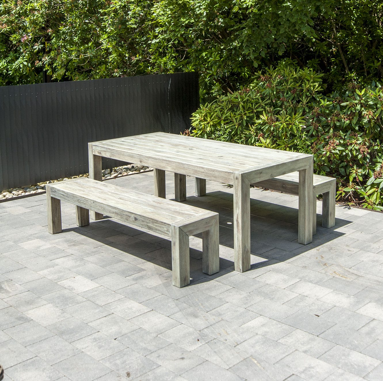 Garden Bench / Traditional / Acacia / Fsc Certified Inside Wood Garden Benches (View 15 of 25)