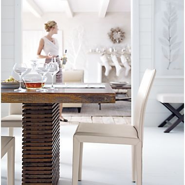 Gift Registry Kelleigh Greenberg & Dominic Jephcott | Crate In Dom Square Dining Tables (Image 15 of 25)
