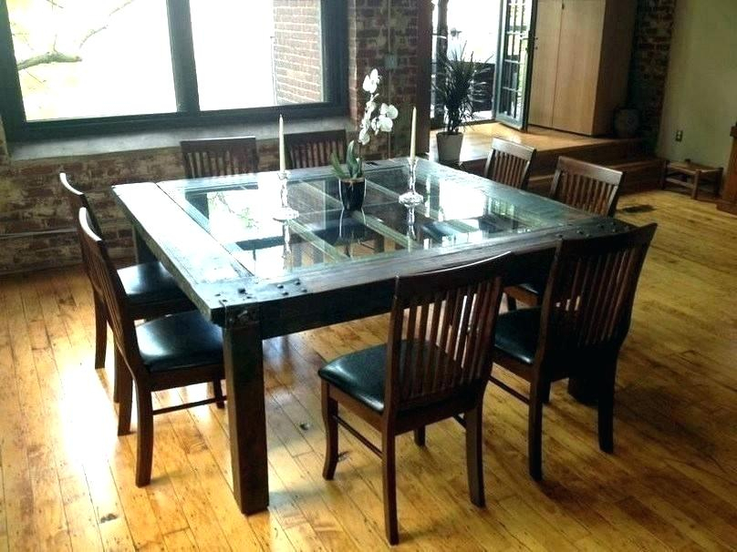Glass Dining Table Set – Stichling In Modern Round Glass Top Dining Tables (Image 7 of 25)