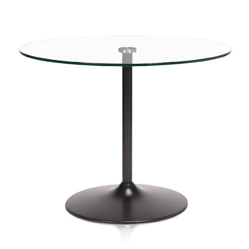 Glass Top Condo Dining Table For Artefac Contemporary Casual Dining Tables (Image 15 of 25)