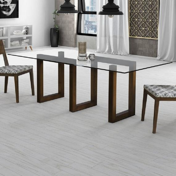 Glass Top Dining Table | Maze Dining Table | Modern Maze Base | Matched Contemporary Tables Throughout Wood Top Dining Tables (View 12 of 25)