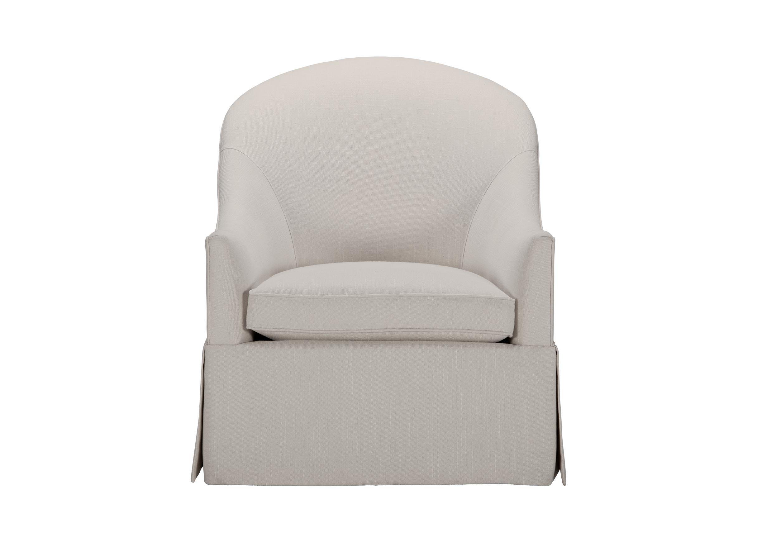 Grace Swivel Chair | Ethan Allen Regarding Woven High Back Swivel Chairs (View 19 of 25)