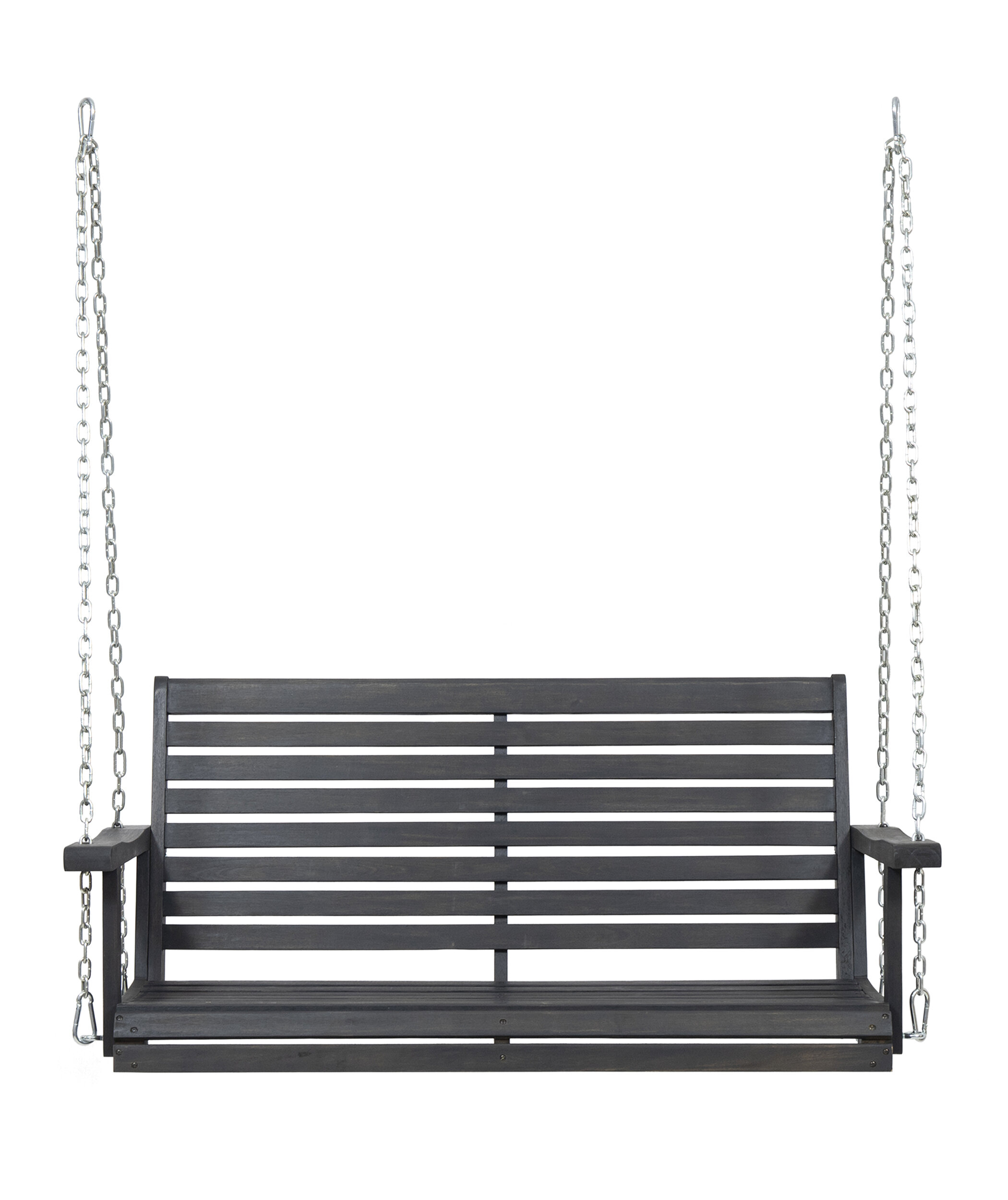 Gracie Oaks Lamp Outdoor Porch Swing & Reviews | Wayfair Regarding Lamp Outdoor Porch Swings (Photo 1 of 25)