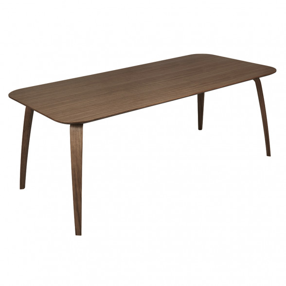 Gubi Rectangular Dining Table Inside Dining Tables With Stained Ash Walnut (View 13 of 25)