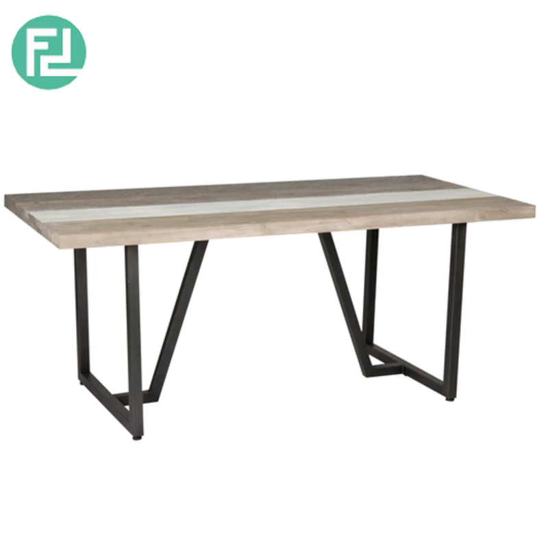 Hachi 180X90Cm Solid Acacia Wood Dining Table Regarding Solid Acacia Wood Dining Tables (Image 7 of 25)