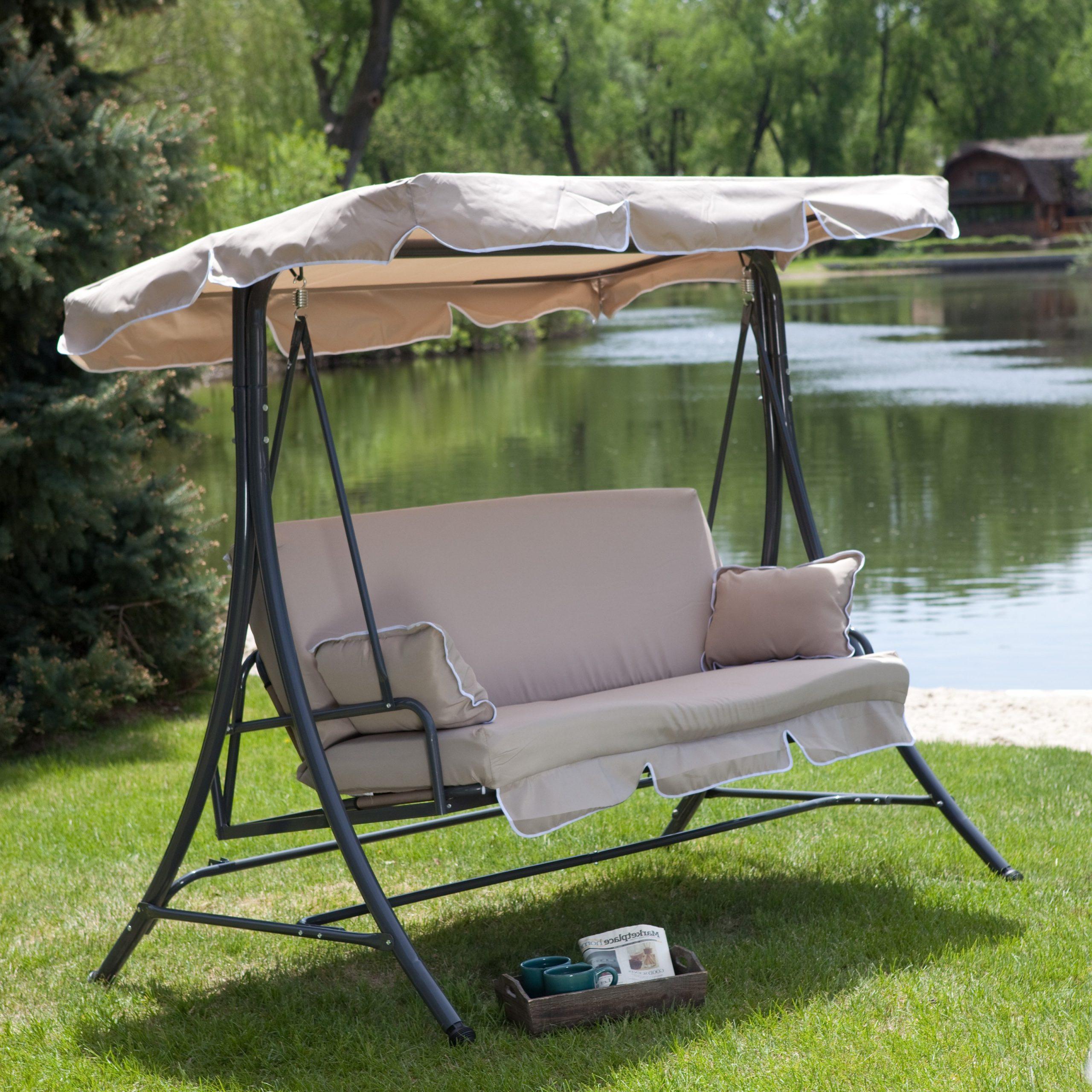 Hammock Patio Backyard Terrace Bliss Wide Oversized With Regarding Patio Glider Hammock Porch Swings (View 9 of 25)