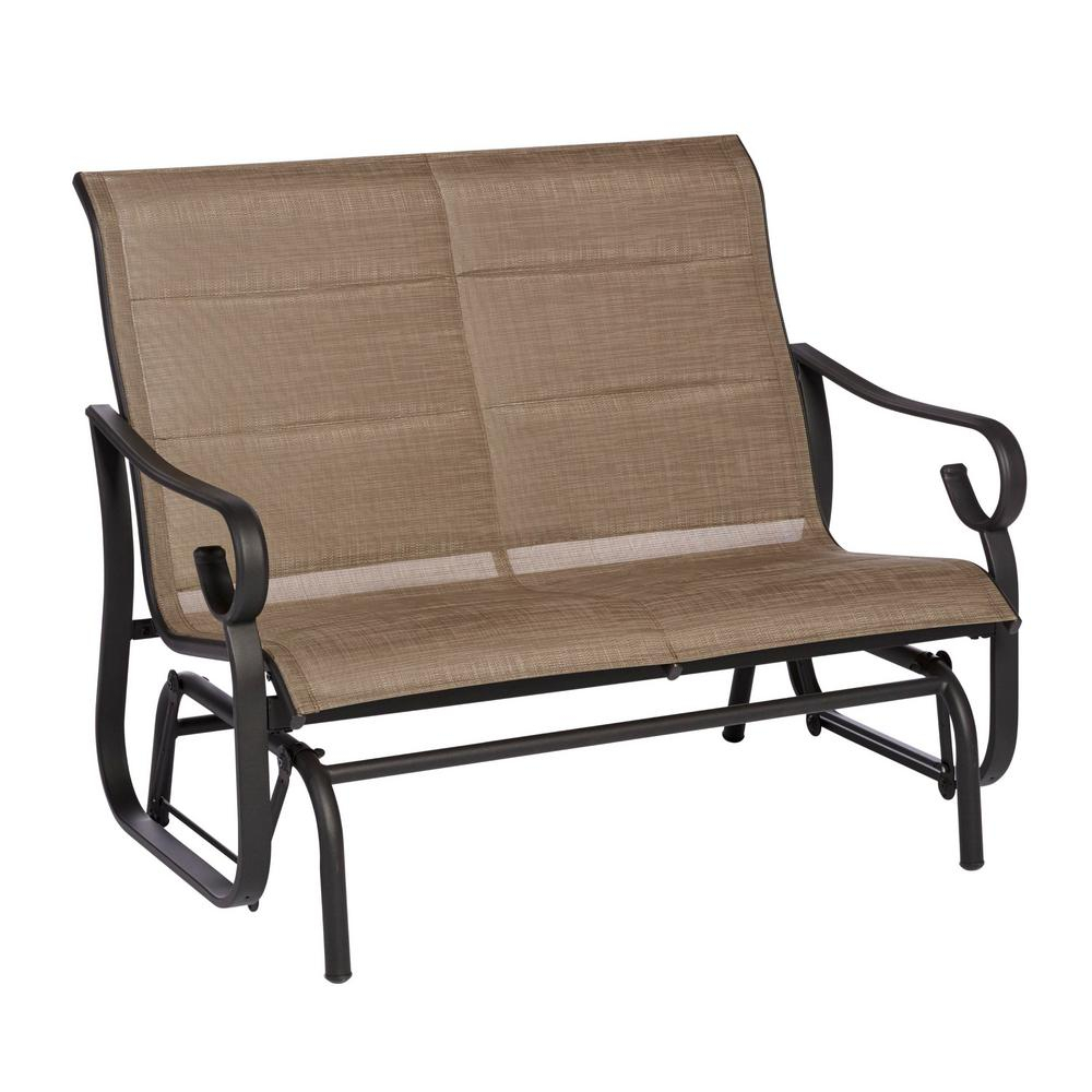 Featured Image of Padded Sling Double Glider Benches