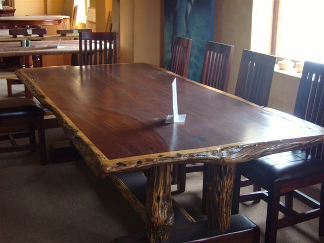 Hand Made Dining Table Set 10 Seat Ironwoodafrican With Regard To Iron Wood Dining Tables (View 3 of 25)