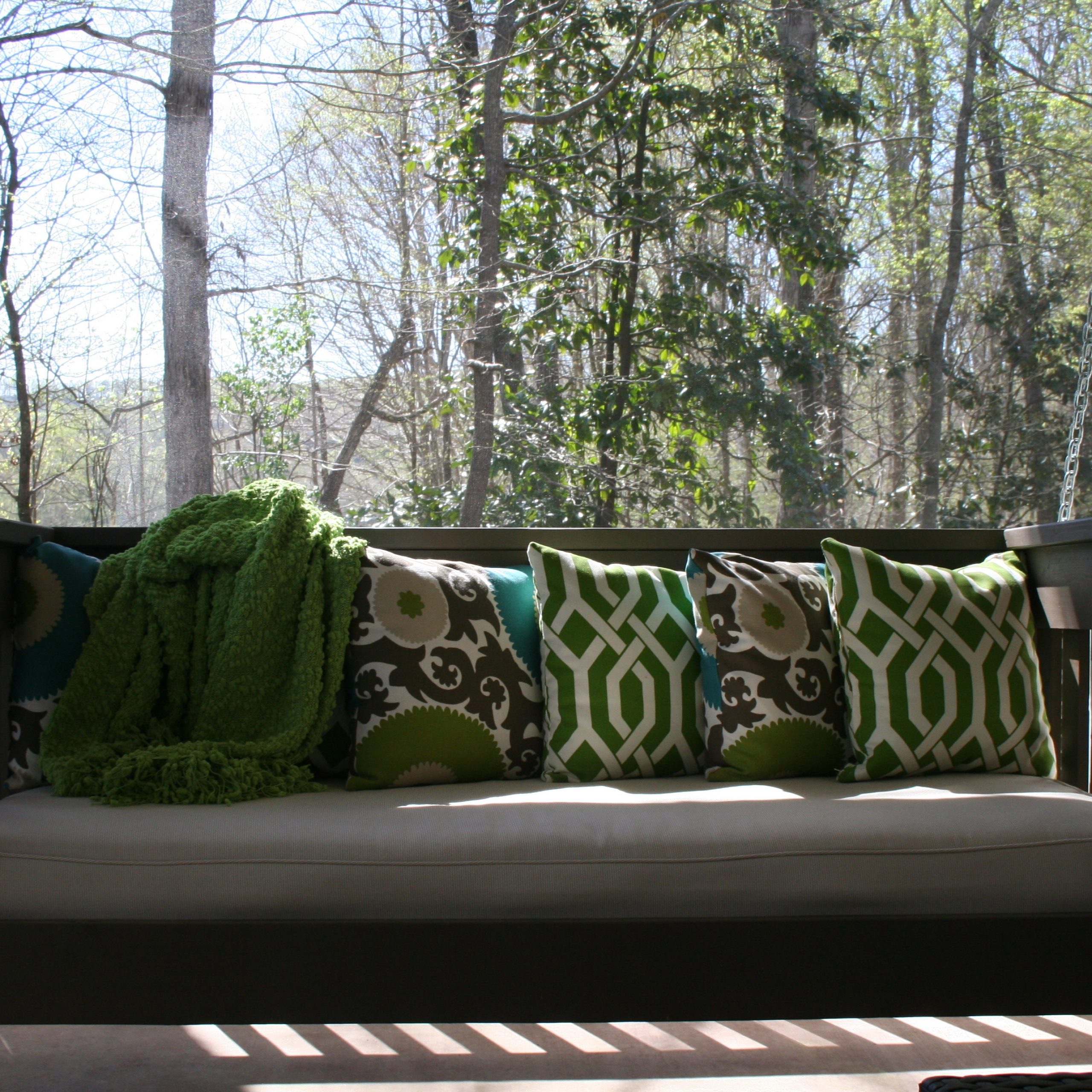 Hanging Daybed | Ana White In Day Bed Porch Swings (Image 11 of 25)