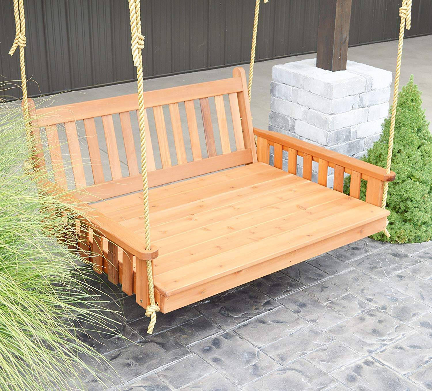 Hanging Porch Swing Plans Images Swinging Beds Designs Round Regarding Patio Hanging Porch Swings (View 22 of 25)