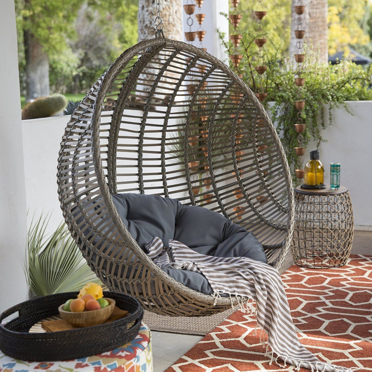 Hanging Swing Chair — Procura Home Blog Pertaining To Rattan Garden Swing Chairs (View 23 of 25)