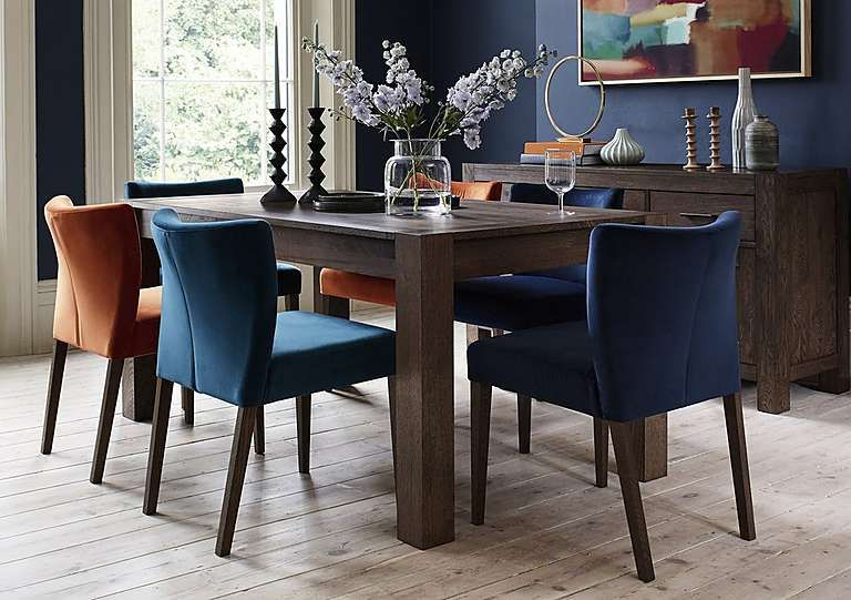Havana Small Extending Dining Table | Make A House A Home With Acacia Wood Medley Medium Dining Tables With Metal Base (Image 12 of 25)