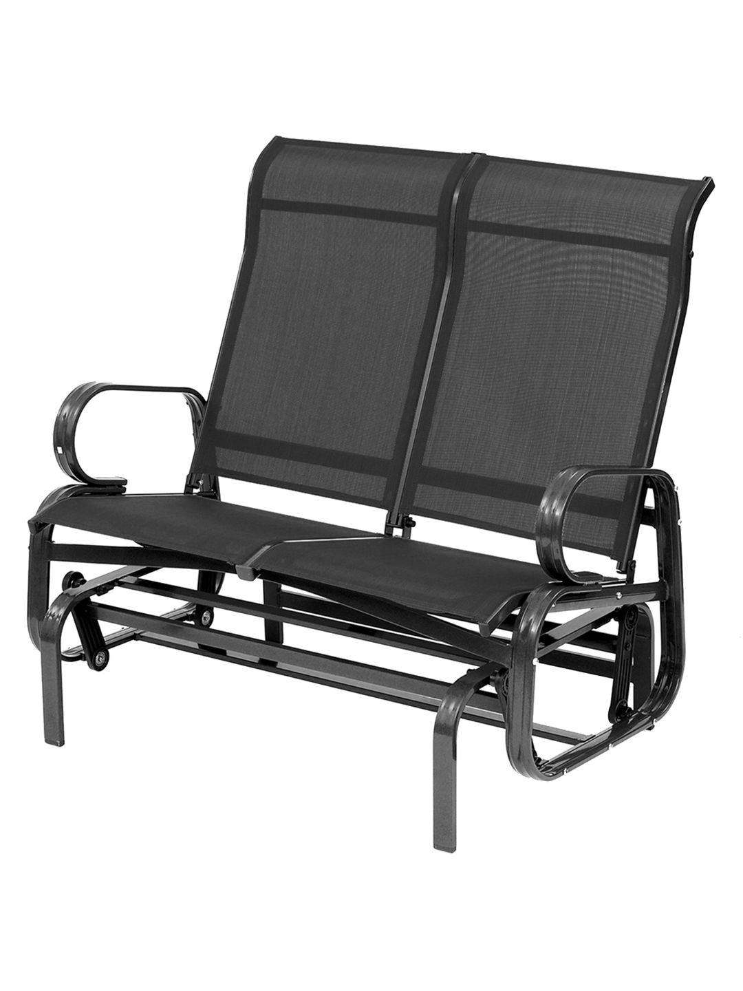 Havana Twin Seat Glidertrans Continental At Gilt | Black Regarding Twin Seat Glider Benches (View 5 of 25)