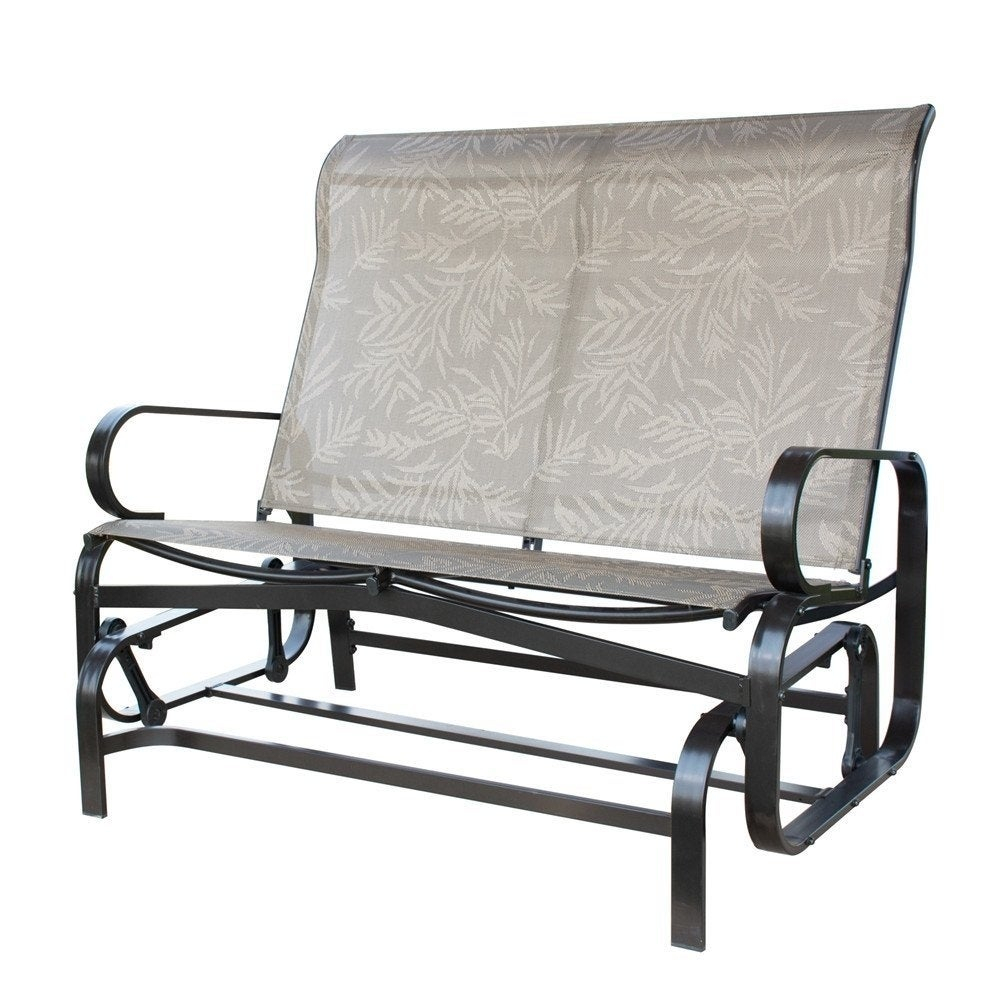 Havenside Home Antigonish Glider Bench Outdoor Loveseat Swing With Rocker For 2 Person Loveseat Chair Patio Porch Swings With Rocker (View 20 of 25)