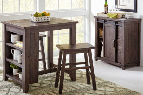 Hendricks Furniture Outlet – Dining Room In Transitional 4 Seating Double Drop Leaf Casual Dining Tables (View 16 of 25)