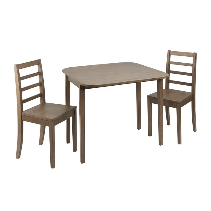 Featured Image of Transitional 3 Piece Drop Leaf Casual Dining Tables Set