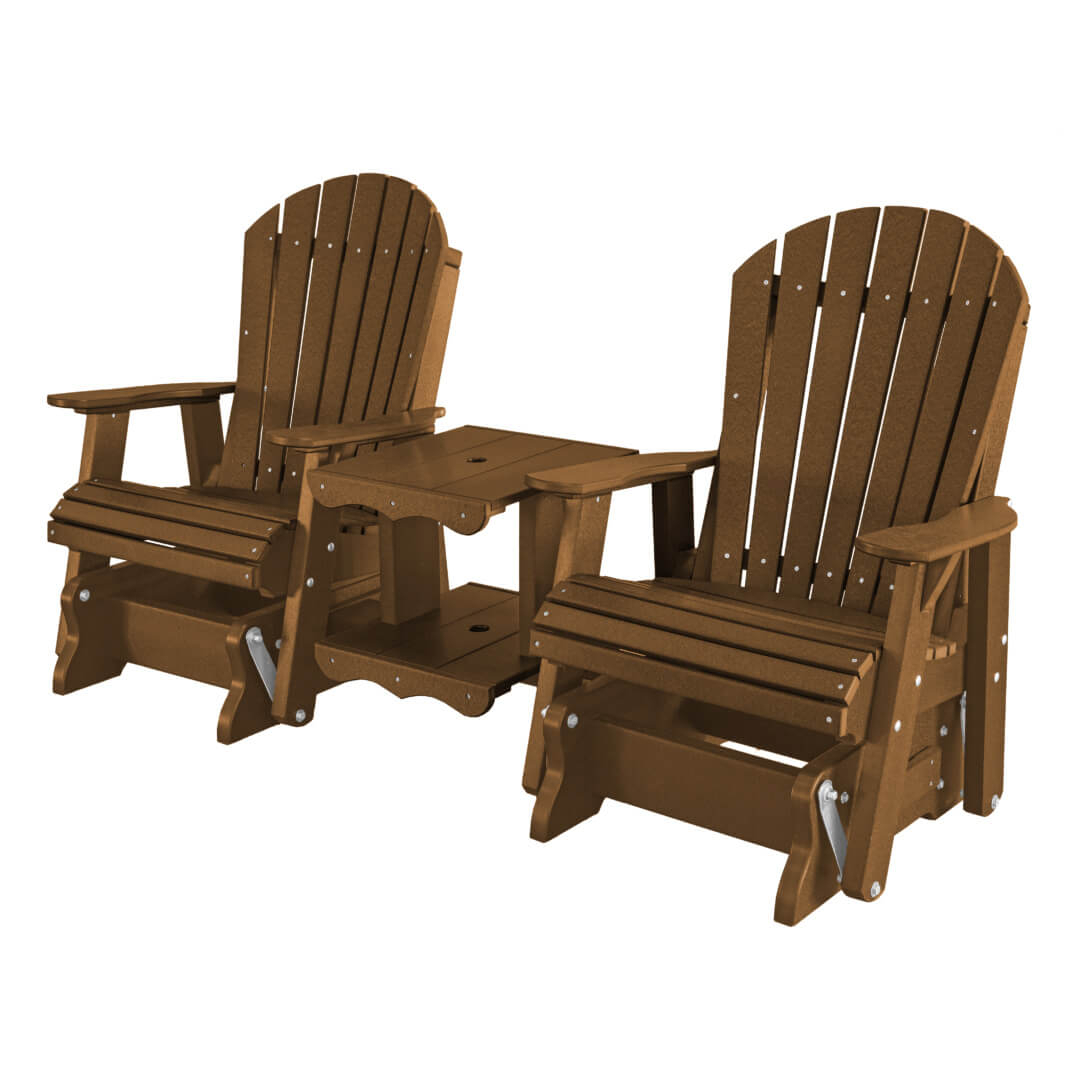 Heritage Collection   Wildridge – Outdoor Poly Furniture Pertaining To Rocking Glider Benches (View 8 of 25)