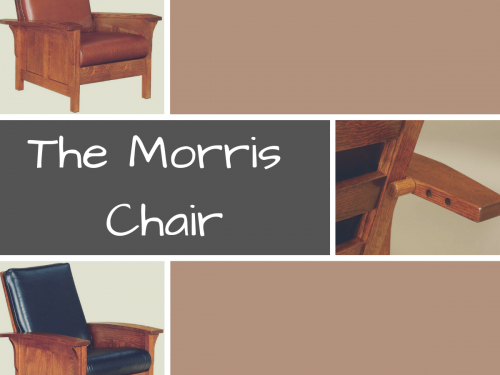 History Of The Morris Chair – Amish Made Craftsman Morris Chairs In Morris Round Dining Tables (View 16 of 25)