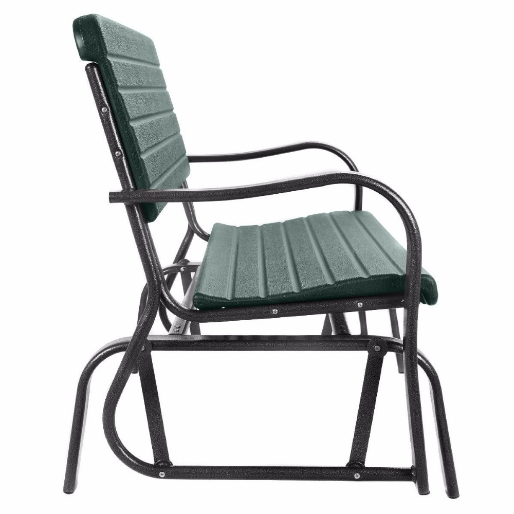 Hot Price #5935 – Outdoor Patio Swing Porch Rocker Glider With Regard To Outdoor Patio Swing Porch Rocker Glider Benches Loveseat Garden Seat Steel (View 20 of 25)