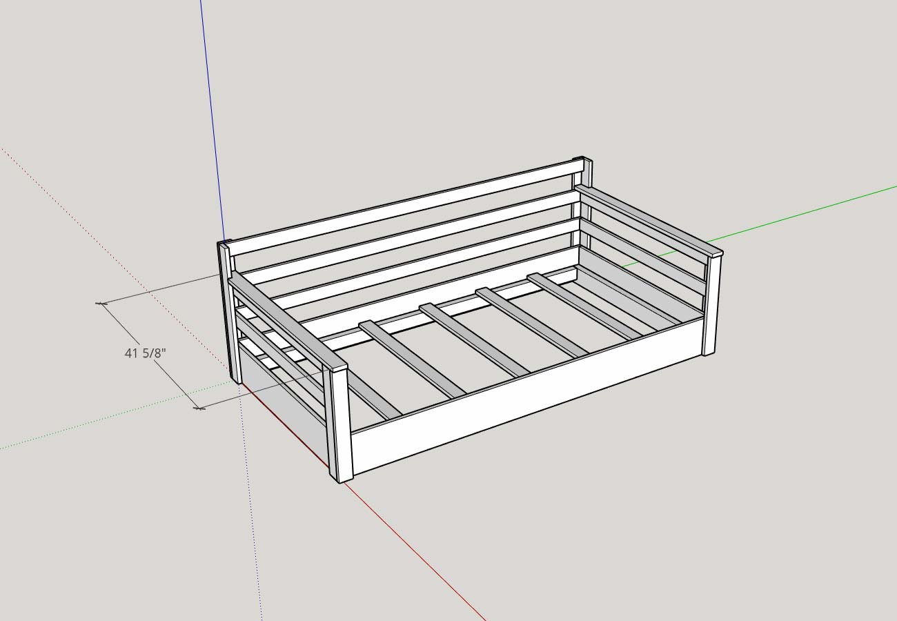 How To Build A Porch Swing Bed – Plank And Pillow Pertaining To Daybed Porch Swings With Stand (View 20 of 25)