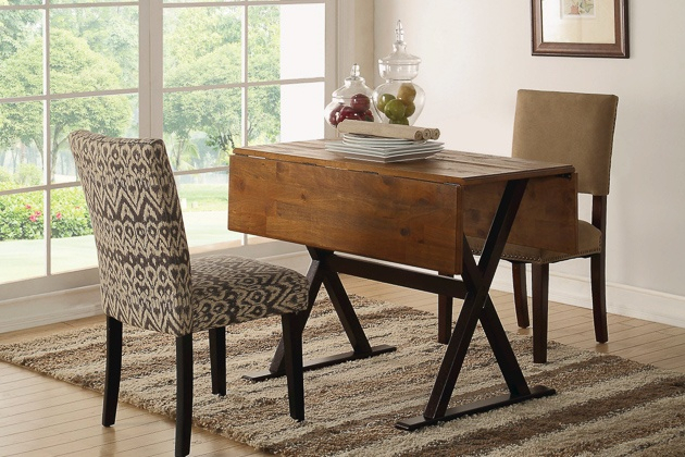 How To Buy A Dining Or Kitchen Table And Ones We Like For In Small Dining Tables With Rustic Pine Ash Brown Finish (View 25 of 25)