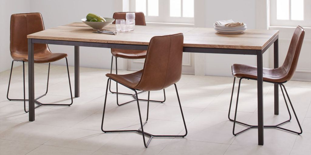 How To Buy A Dining Or Kitchen Table And Ones We Like For With Regard To Acacia Top Dining Tables With Metal Legs (Image 11 of 25)