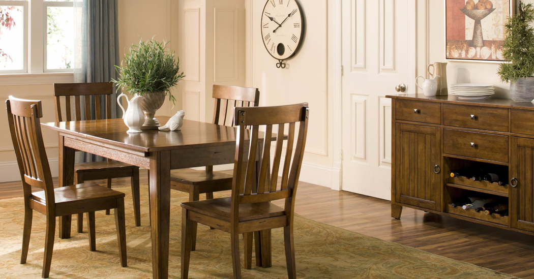 How To Choose The Right Dining Table For Your Home – The New For Small Dining Tables With Rustic Pine Ash Brown Finish (View 10 of 25)