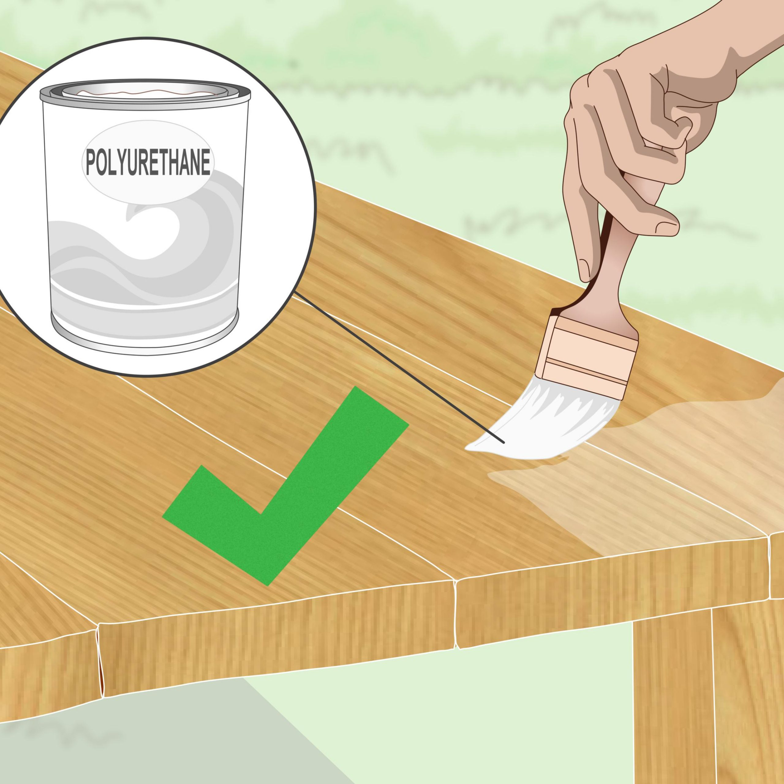 How To Stain Teak Furniture: 12 Steps (With Pictures) – Wikihow With 3 Person Light Teak Oil Wood Outdoor Swings (View 20 of 25)
