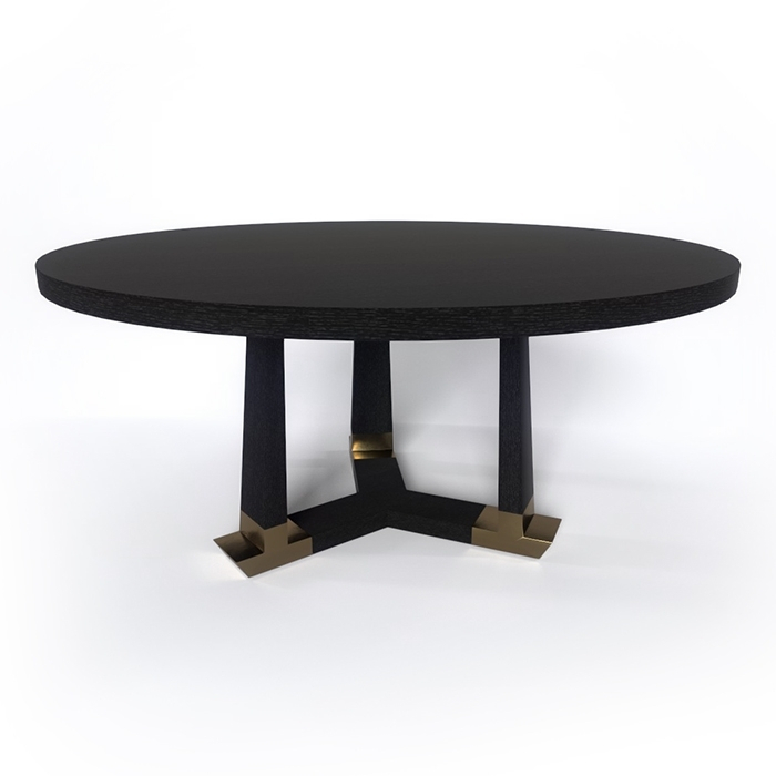 Hudson Furniture | Furniture | Dining Tables Throughout Acacia Wood Dining Tables With Sheet Metal Base (Image 8 of 25)
