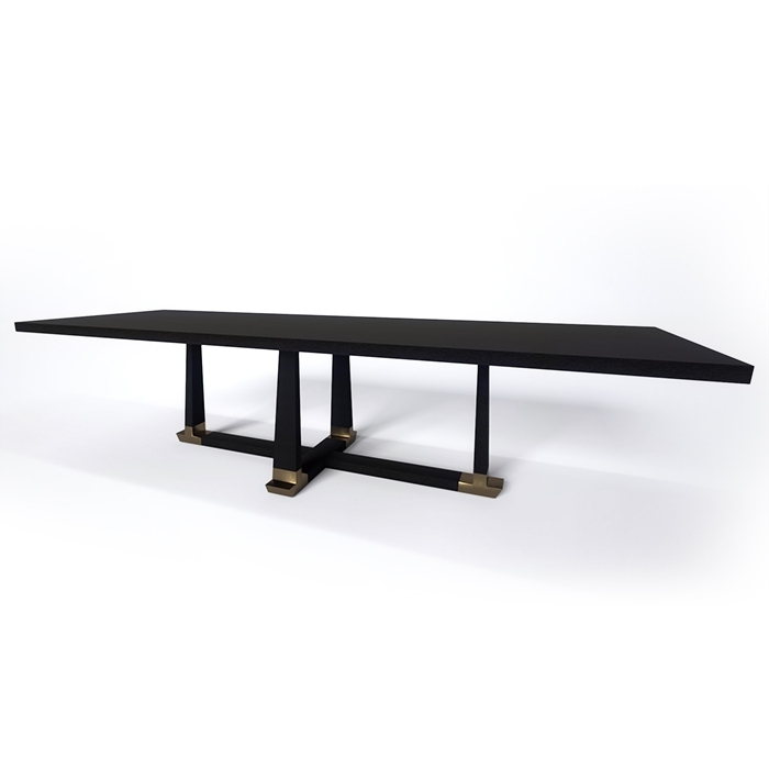 Hudson Furniture | Furniture | Dining Tables Throughout Acacia Wood Dining Tables With Sheet Metal Base (View 18 of 25)
