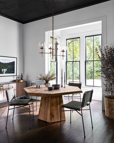 Imported Wood Dining Room Furniture | Neiman Marcus For Acacia Dining Tables With Black Victor Legs (Image 12 of 25)