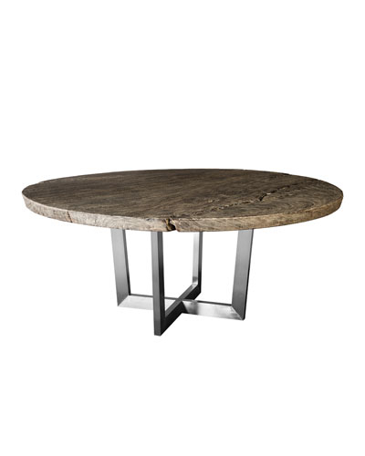 Imported Wood Dining Room Furniture | Neiman Marcus Within Acacia Wood Dining Tables With Sheet Metal Base (View 23 of 25)