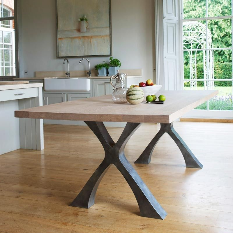 Iron Dining Table Legs – Google Search В 2020 Г For Iron Wood Dining Tables With Metal Legs (View 6 of 25)