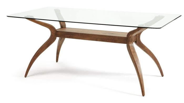 Islington Walnut Rectangular Dining Table With Regard To Contemporary Rectangular Dining Tables (View 24 of 25)