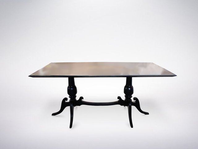 Italian White Marble Top Dining Table, 1950S With Dining Tables With White Marble Top (Image 10 of 25)