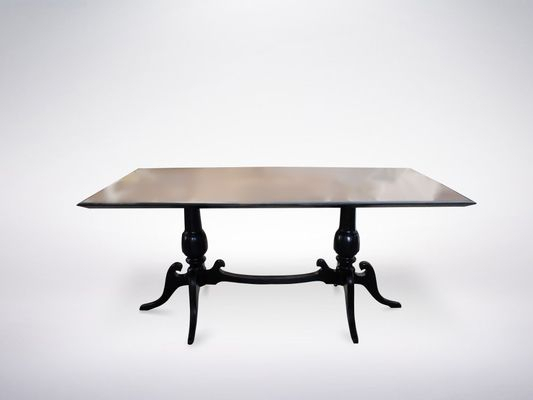 Italian White Marble Top Dining Table, 1950S With Wood Top Dining Tables (View 20 of 25)