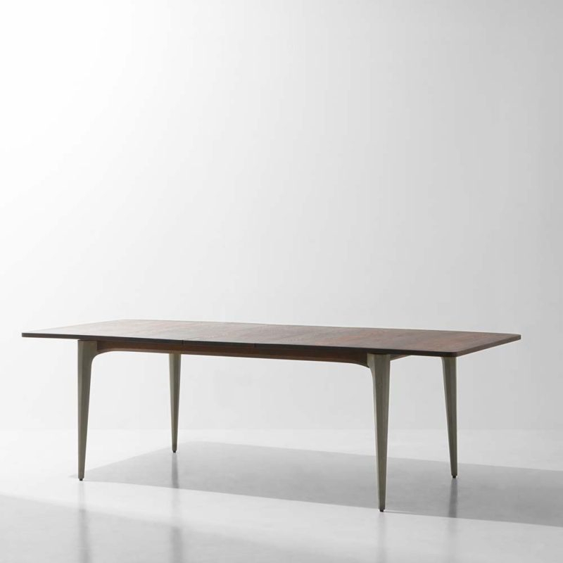 Kahn Trestle Dining Tabledistrict Eight | H&h Studio Pertaining To Dining Tables In Smoked Seared Oak (View 8 of 25)