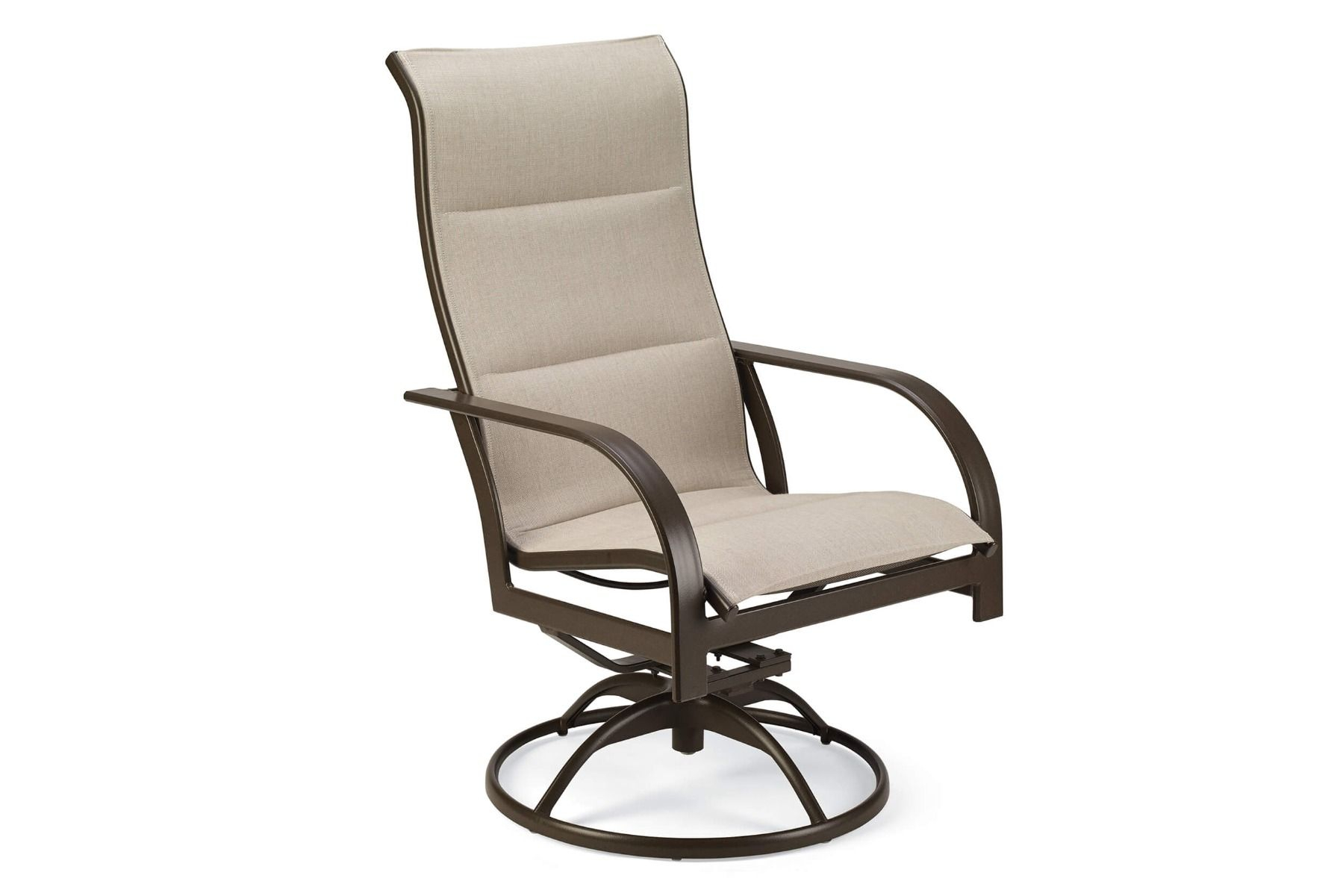 Key West Padded Sling Ultimate High Back Swivel Tilt Chair (2Pk) Pertaining To Sling High Back Swivel Chairs (View 15 of 25)