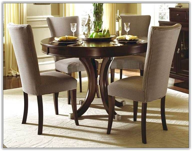 Kitchen Table And Chairs For A Better Dining Time | Bathroom With Elegance Small Round Dining Tables (View 2 of 25)