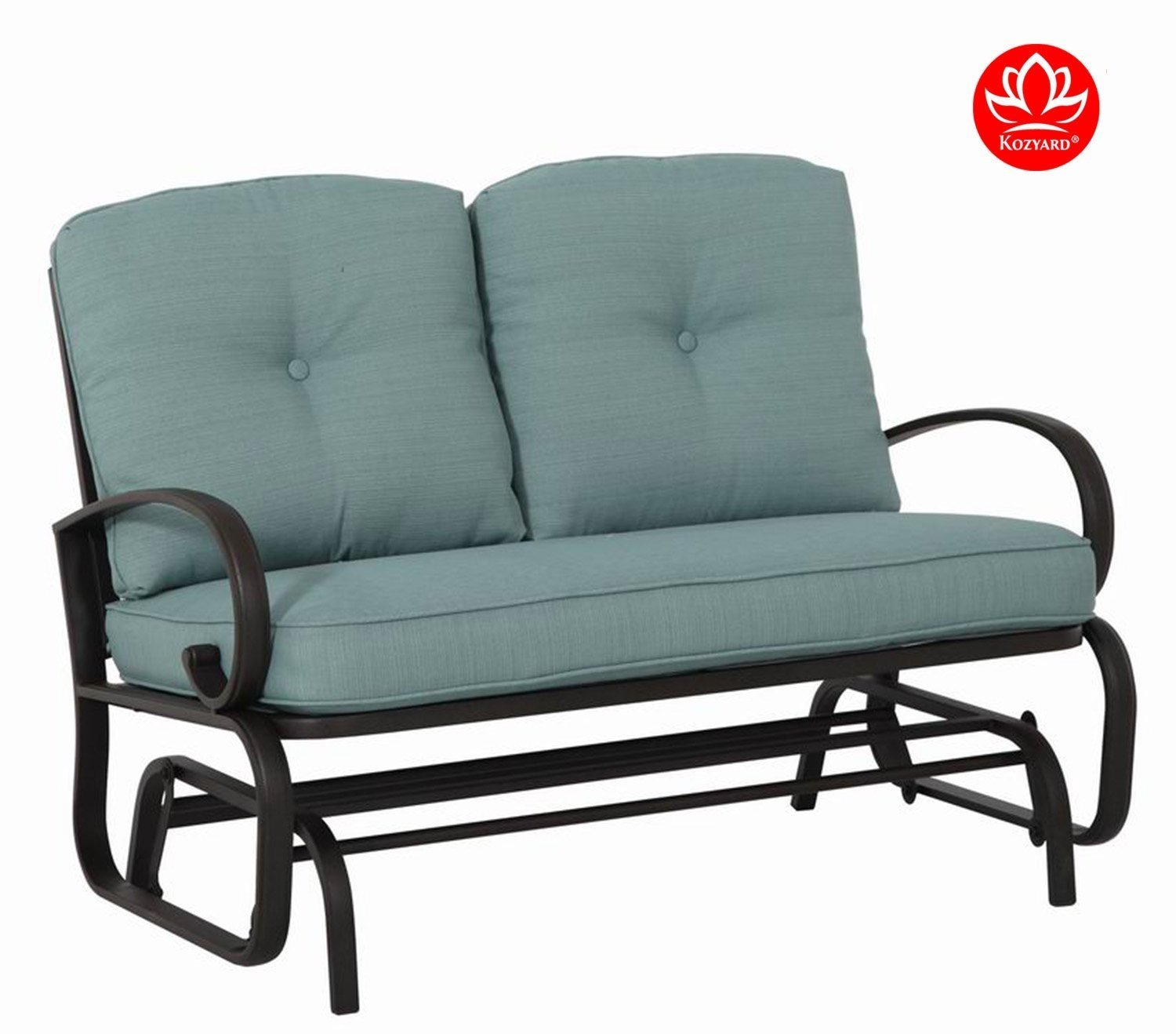 Featured Image of Rocking Love Seats Glider Swing Benches With Sturdy Frame