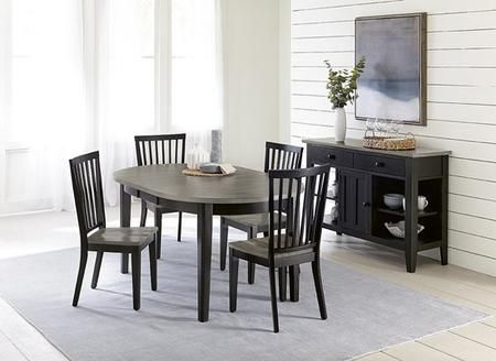 Lancaster D883 10 4Scsv 6 Piece Dining Room Set With Dining Regarding Atwood Transitional Square Dining Tables (View 22 of 25)