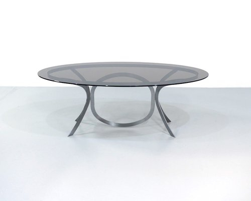 Featured Image of Smoked Oval Glasstop Dining Tables