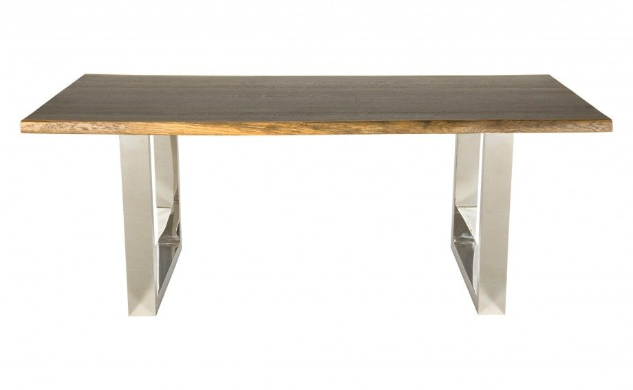 Let's Eat! Drexler Dining Table – Beautifully Grained For Dining Tables In Seared Oak (Image 9 of 25)
