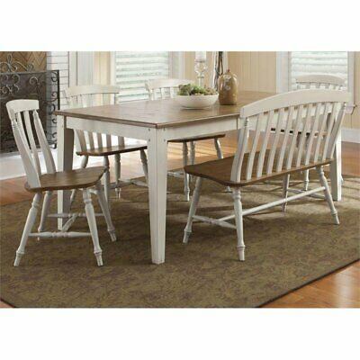 Liberty Furniture Al Fresco Iii 6 Piece Dining Set In Driftwood  842994160410 | Ebay Throughout Transitional Driftwood Casual Dining Tables (View 22 of 25)